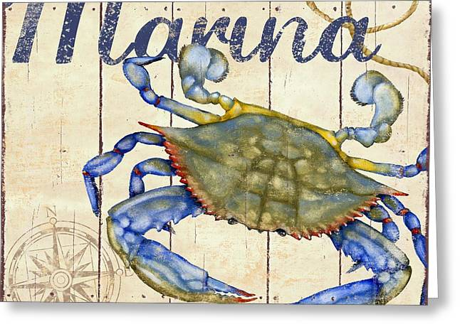 Crab Nets Greeting Cards - Bridgeport IV Greeting Card by Paul Brent