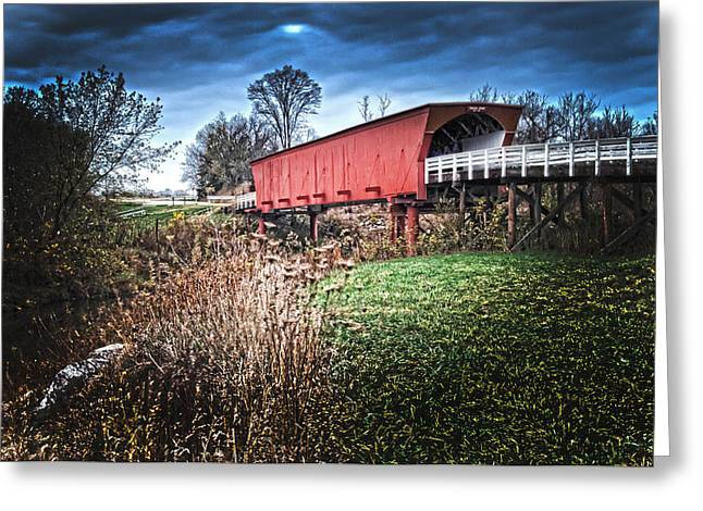 Randall Branham Greeting Cards - Bridges of Madison County Greeting Card by Randall Branham