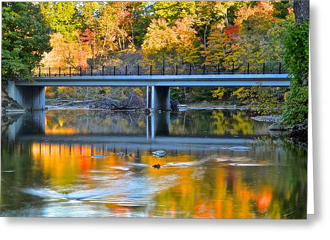 Family Love Greeting Cards - Bridges of Madison County Greeting Card by Frozen in Time Fine Art Photography