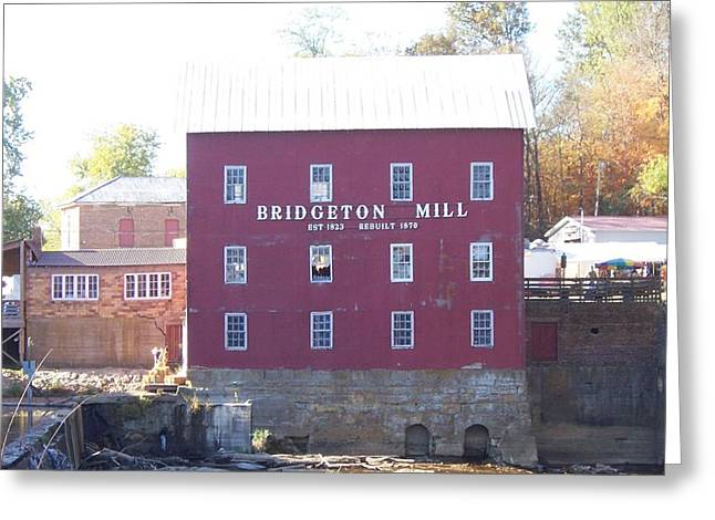 Bridgeton Mill Greeting Cards - Bridgeton Mill Greeting Card by John Mathews
