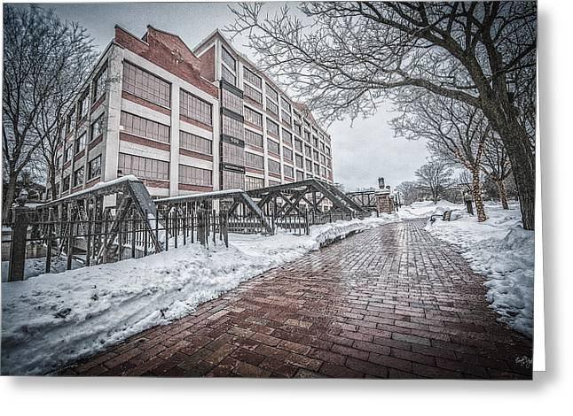 Downtown Franklin Greeting Cards - Bridgewater Place Greeting Card by Everet Regal