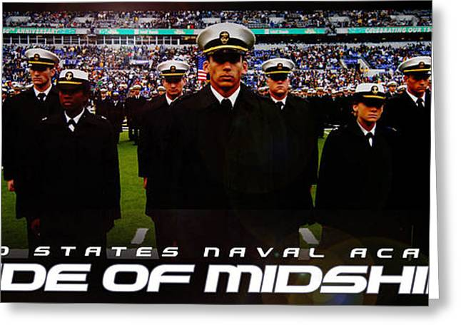 Brigade Greeting Cards - Brigade of Midshipmen Greeting Card by Mountain Dreams