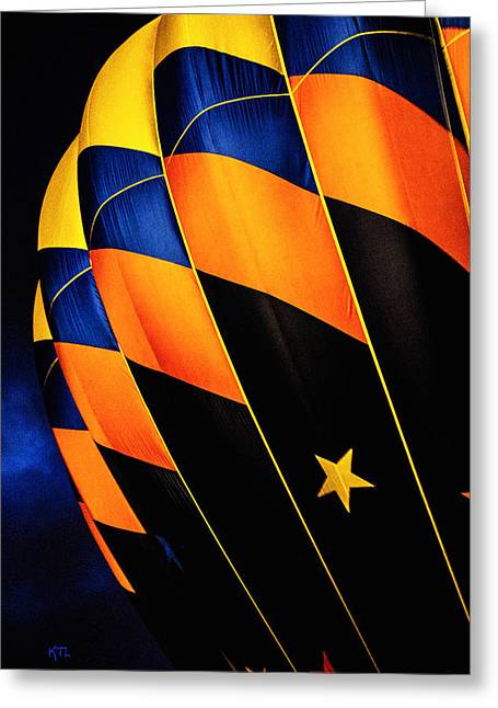 Propane Greeting Cards - Bright Balloon  Greeting Card by Karol  Livote