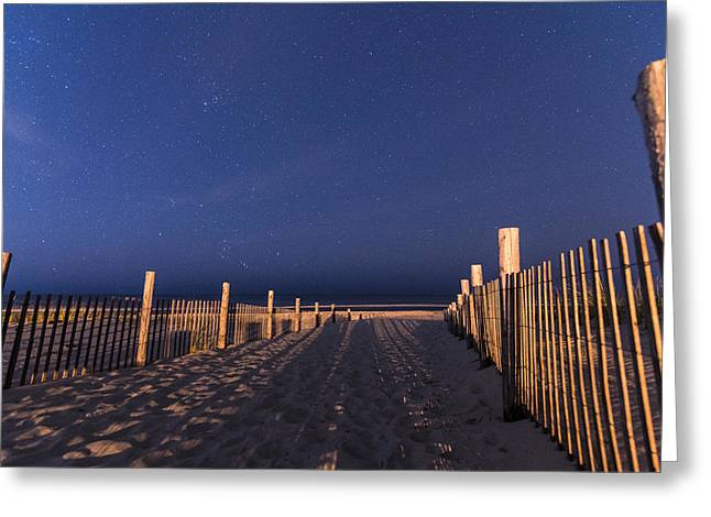 Bright Dunes Greeting Card by Kristopher Schoenleber