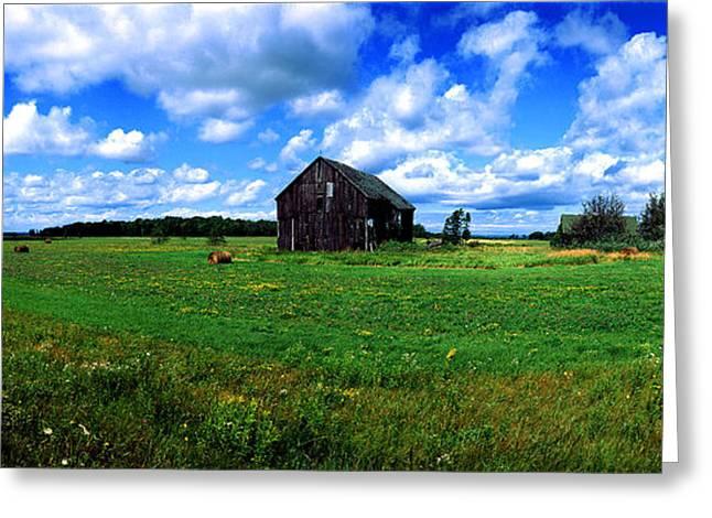 Brimley Greeting Cards - Brimley farm near  Sault Ste Marie Michigan  Greeting Card by Tom Jelen
