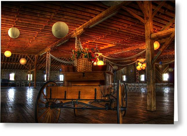 Barn Dance Greeting Cards - Bring on the Bride Greeting Card by Jon Berghoff