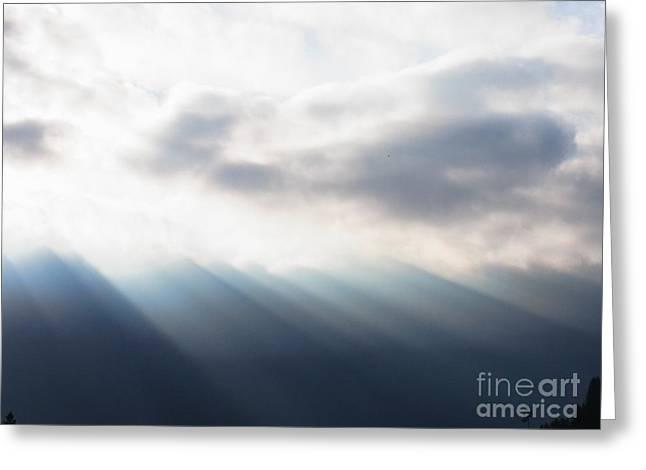 Bringer Of Light Greeting Card by Agnieszka Ledwon