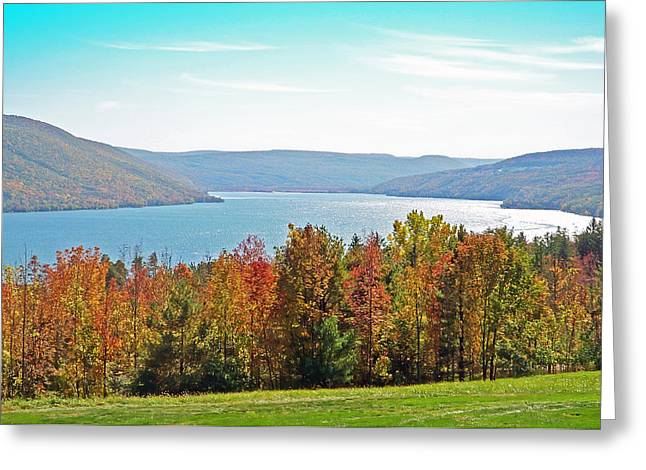 Canandaigua Lake Greeting Cards - Bristol Harbour View Greeting Card by Aimee L Maher Photography and Art