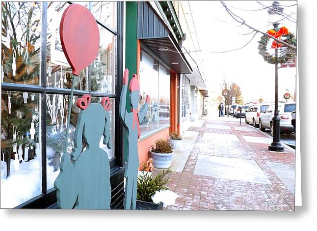 Innovative Greeting Cards - Bristol Pennsylvania  Greeting Card by Robyn King
