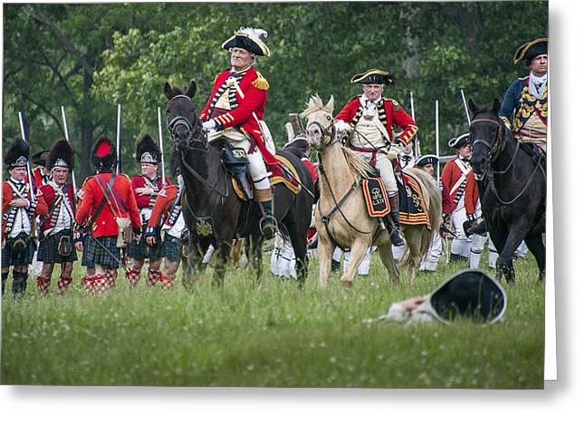 Best Sellers -  - Brigade Greeting Cards - British Brigade Greeting Card by Bruce Neumann