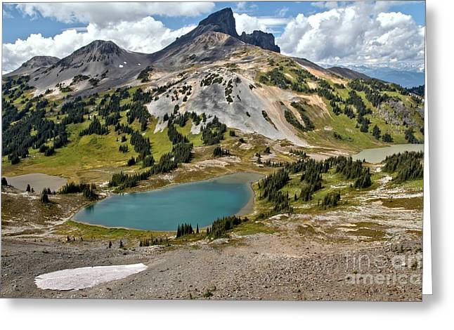 Provincial Park Bc Greeting Cards - British Columbia Black Tusk Landscape Greeting Card by Adam Jewell