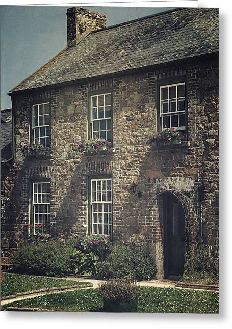 Stonewall Photographs Greeting Cards - British Cottage Greeting Card by Joana Kruse