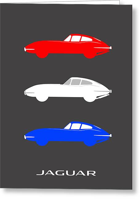 Jaguars Photographs Greeting Cards - British Icon - Jaguar E Type Greeting Card by Mark Rogan