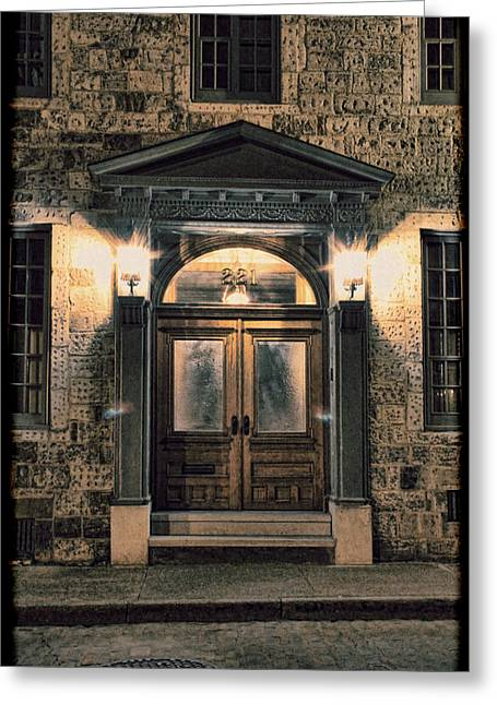 Customization Greeting Cards - British - Jack the Rippers Doorway III Greeting Card by Lee Dos Santos