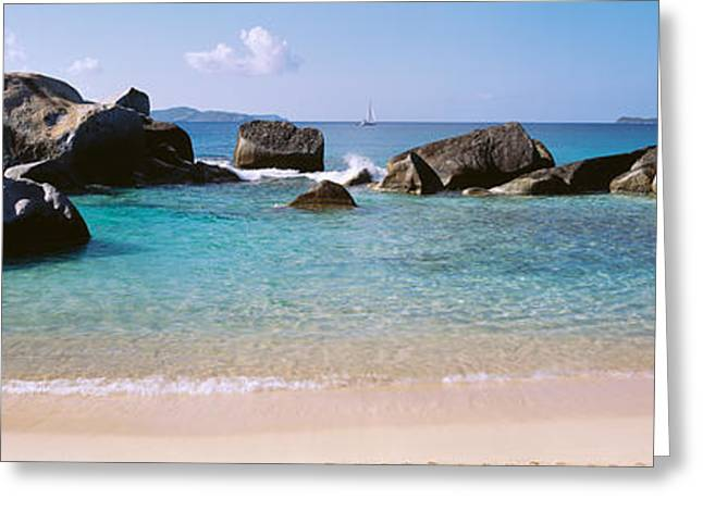 British Virgin Islands, Virgin Gorda Greeting Card by Panoramic Images