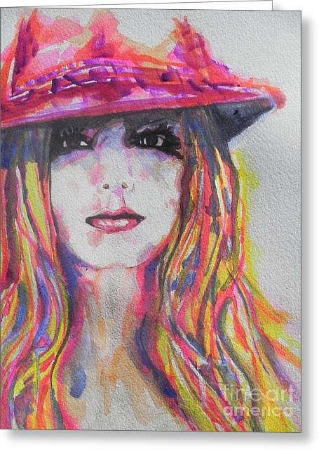 Britney Spears Greeting Cards - Britney Spears Greeting Card by Chrisann Ellis