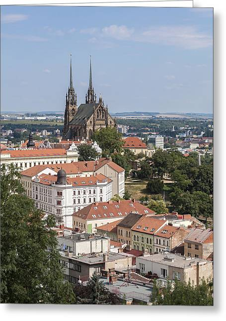 Moravia Greeting Cards - Brno. Czech Republic. Greeting Card by Fernando Barozza