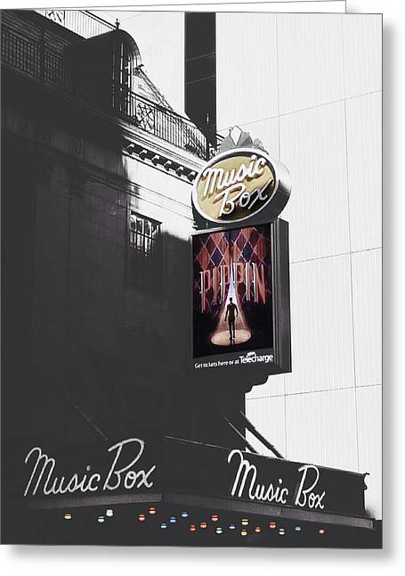 Award Digital Greeting Cards - Broadway Dreams Greeting Card by Natasha Marco