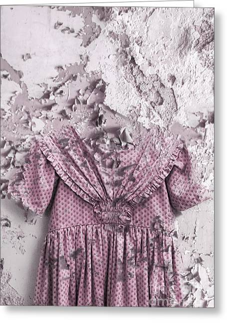 Outfit Greeting Cards - Broken Childhood Greeting Card by Margie Hurwich