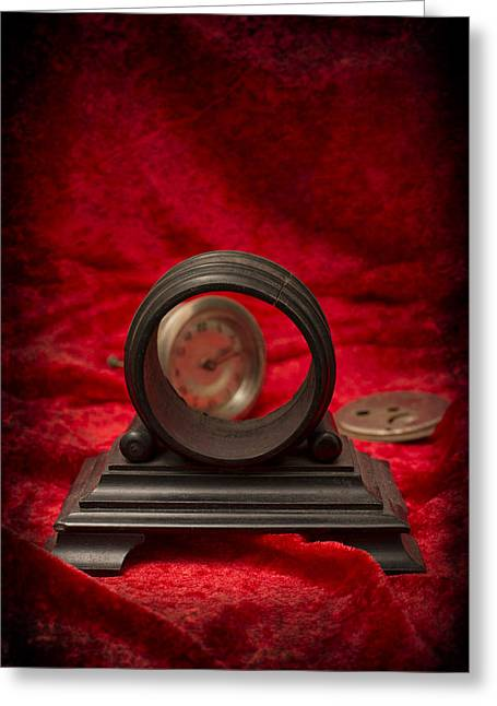 Clock Photographs Greeting Cards - Broken Clock Greeting Card by Amanda And Christopher Elwell
