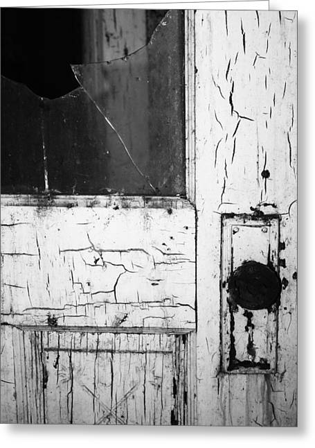 Black Widow Greeting Cards - Broken Doors  Greeting Card by Jerry Cordeiro