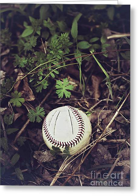 Curve Ball Greeting Cards - Broken Dreams Greeting Card by Trish Mistric