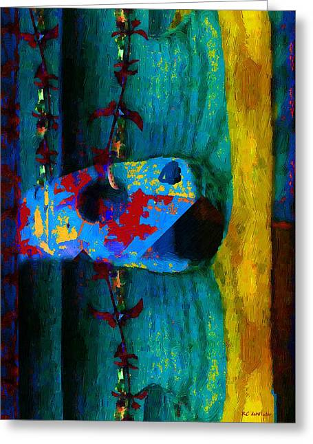 Interior Still Life Greeting Cards - Broken Music Greeting Card by RC deWinter