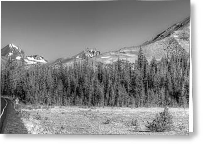 Black Top Greeting Cards - Broken Top and South Sister Greeting Card by Twenty Two North Photography