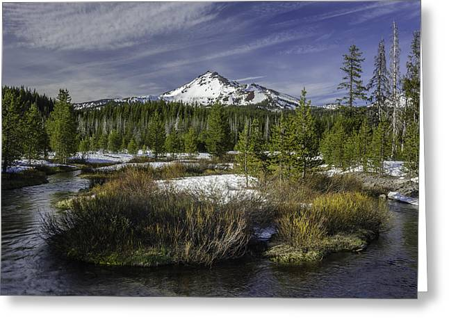 Hightway Greeting Cards - Broken Top Greeting Card by Chris Malone