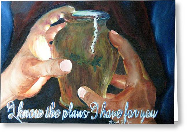 Master Potter Greeting Cards - Broken Vessels Greeting Card by Michael Race