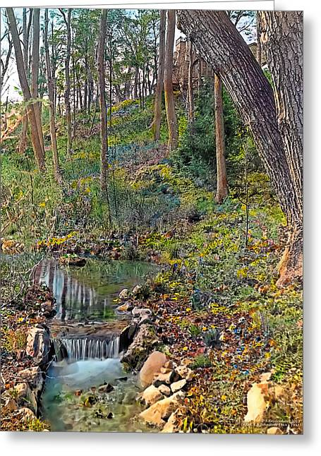 Classical Greeting Cards - Brook Greeting Card by Terry Reynoldson