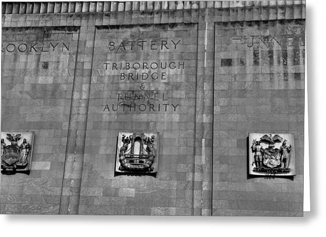 Harlem River Greeting Cards - Brooklyn Battery Tunnel Greeting Card by Dan Sproul