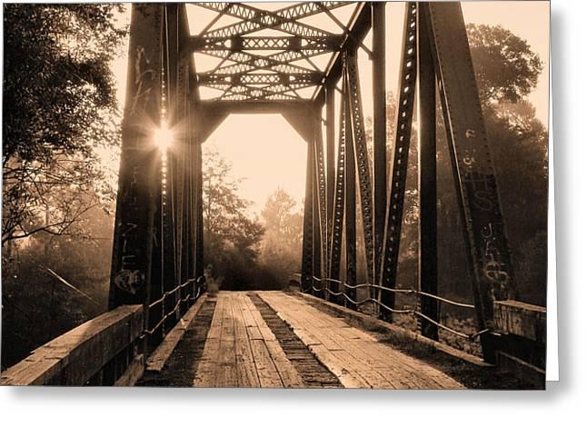 Brooklyn Bridge 3 Greeting Card by JC Findley