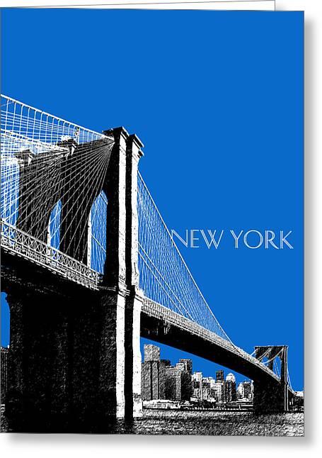 State Capital Greeting Cards - Brooklyn Bridge Greeting Card by DB Artist