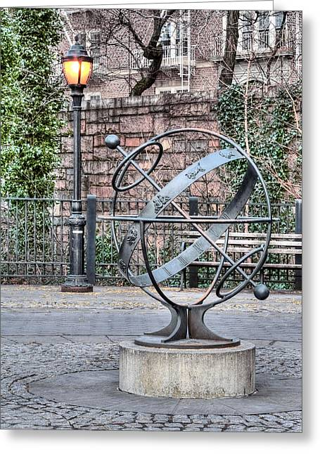 Brooklyn Promenade Greeting Cards - Brooklyn Heights  Greeting Card by JC Findley