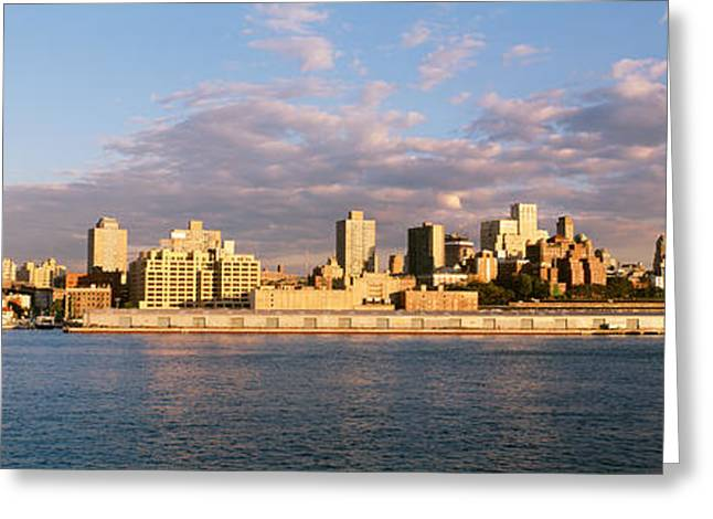 City Buildings Greeting Cards - Brooklyn Heights, Nyc, New York City Greeting Card by Panoramic Images