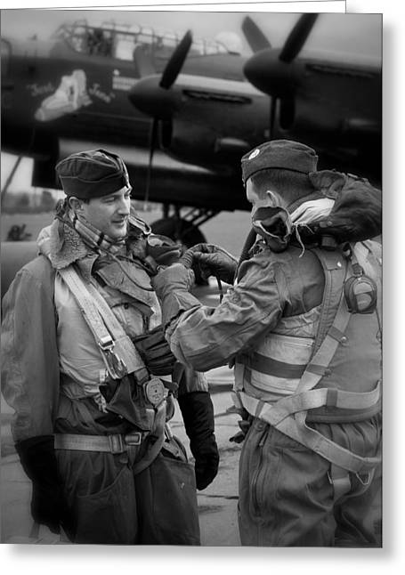 Fighter-bomber Photographs Greeting Cards - Brotherhood Greeting Card by Jason Green