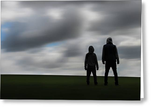 Print Photographs Greeting Cards - Brothers Greeting Card by Greg Howard