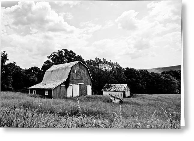 Brown County Barn II Greeting Card by Off The Beaten Path Photography - Andrew Alexander