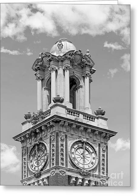 Carrie Greeting Cards - Brown University Carrie Tower Greeting Card by University Icons