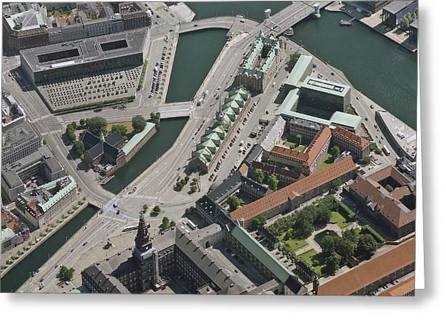 Enterprise Photographs Greeting Cards - Børsen, Copenhagen Greeting Card by Blom ASA