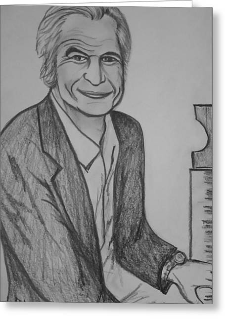 Brubeck Greeting Card by Pete Maier