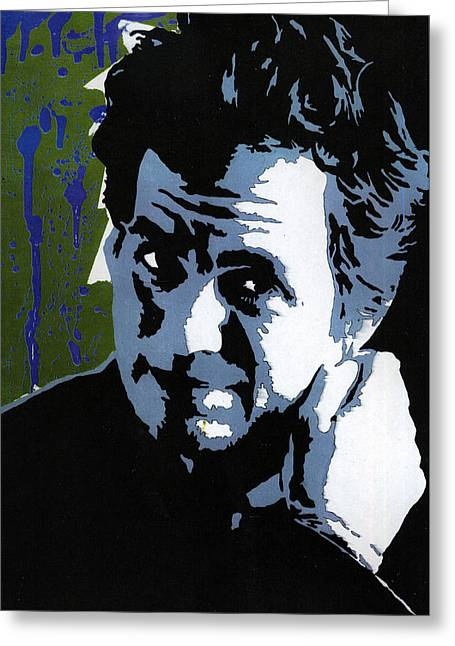 Mark Ruffalo Greeting Cards - Bruce Banner Greeting Card by Stephenie Lee