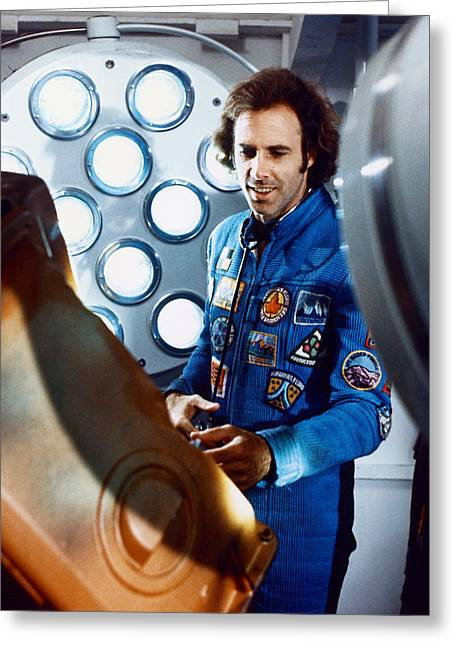 Silent Film Greeting Cards - Bruce Dern in Silent Running  Greeting Card by Silver Screen
