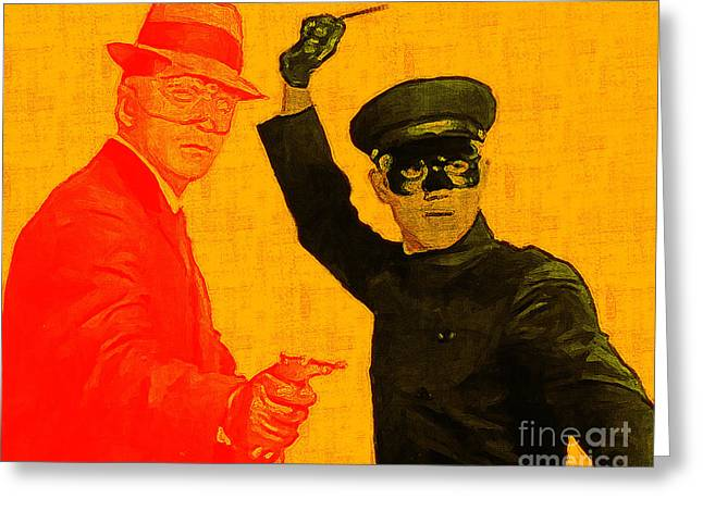 Green Hornets Greeting Cards - Bruce Lee Kato and The Green Hornet 20130216 Greeting Card by Wingsdomain Art and Photography