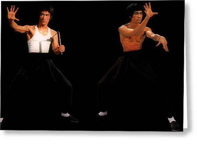 Movie Art Greeting Cards - Bruce Lee Greeting Card by Unknown