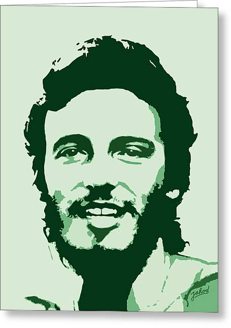 Born To Run Greeting Cards - Bruce Springsteen - Born To Run Greeting Card by Jarod