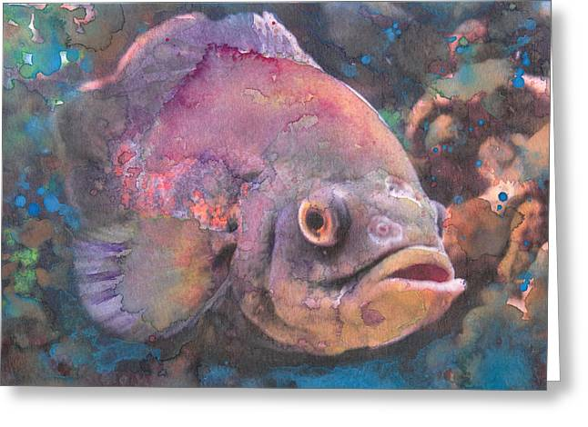 Aquatic Greeting Cards - Brutus Greeting Card by Susan Powell