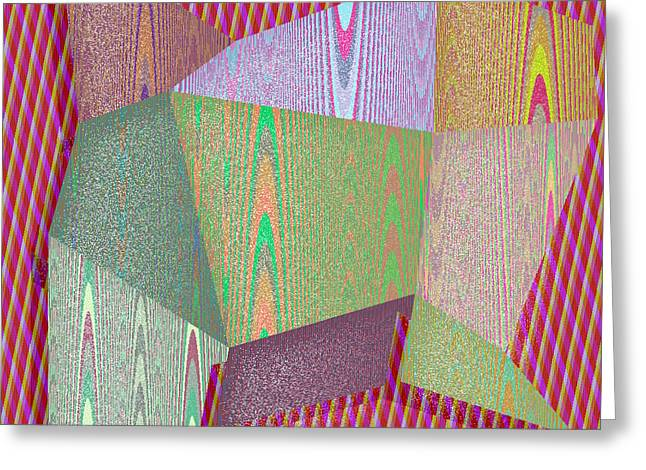 Algorithm Greeting Cards - Bryan Greeting Card by Gareth Lewis