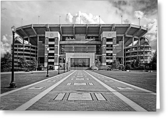 Bryant Denny Stadium 2011 Greeting Card by Ben Shields